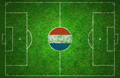 Football Pitch Royalty Free Stock Photography