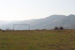 Football pitch Royalty Free Stock Photos