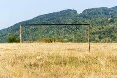 Football pitch Stock Photos