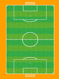 Football pitch vector Stock Photo
