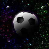 Football planet Stock Photo
