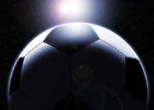 Football Planet Stock Image