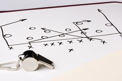 Football play stock images