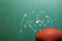 Football Play Royalty Free Stock Photography