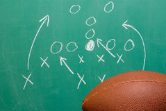 Football Play Stock Photography