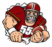 Football player royalty free stock photo