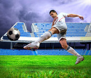 Football player Stock Photos