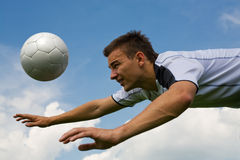 Football player 2 Royalty Free Stock Images