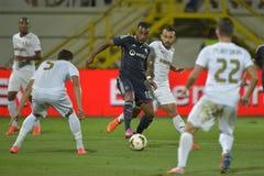 Football player - Alexandre Lacazette Stock Photo