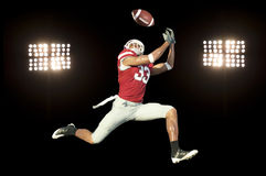 Football Player with Ball Stock Images