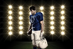 Football Player Stock Photography