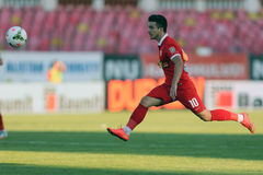 Football player, Cosmin Matei Royalty Free Stock Image