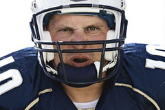 Football Player Face Royalty Free Stock Photo