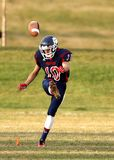 Football Player at Gaming Field Stock Photography