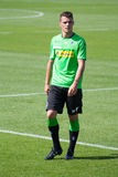 Football player Granit Xhaka in dress of Borussia Monchengladbach Stock Photography