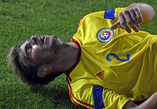 Football player injury Royalty Free Stock Image