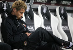 Football player Keisuke Honda Royalty Free Stock Image