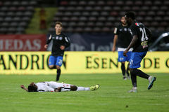 Football player, Patrick Ekeng dies after collapse during Dinamo Bucharest game Royalty Free Stock Photo