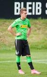 Football player Patrick Herrmann in dress of Borussia Monchengladbach Royalty Free Stock Photo