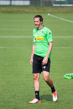 Football player Roul Brouwers in dress of Borussia Monchengladbach Royalty Free Stock Photography