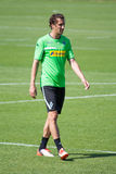 Football player Roul Brouwers in dress of Borussia Monchengladbach Royalty Free Stock Photos