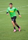 Football player Thorgan Hazard in dress of Borussia Monchengladbach Royalty Free Stock Photography