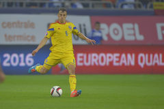 Football player - Vlad Chiriches Royalty Free Stock Photos