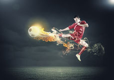 Football player Royalty Free Stock Photos
