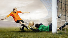 Football players Stock Photos