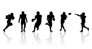 Football Players royalty free illustration