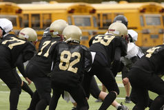 Football players Royalty Free Stock Photography