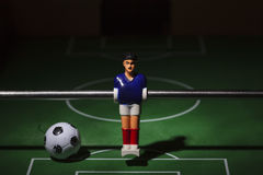 Football players foosball Royalty Free Stock Photography