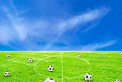 Football playground Royalty Free Stock Photos