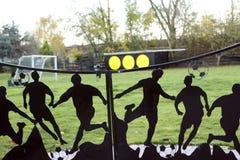 Football playground Freetown Christiania Royalty Free Stock Image