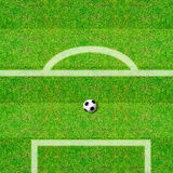 Football playground Stock Photo