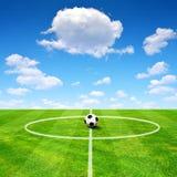 Football playground Stock Image