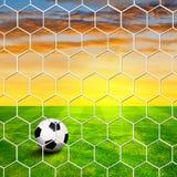 Football playground Royalty Free Stock Image