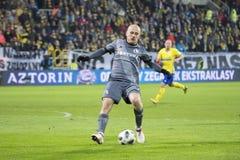 Football Polish league Michał Pazdan. royalty free stock photos