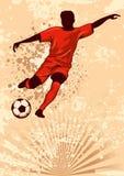 Football poster Stock Photos