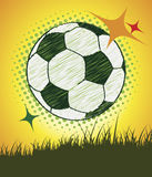 Football  postre Stock Images