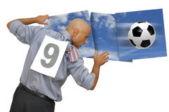 Football power Royalty Free Stock Images