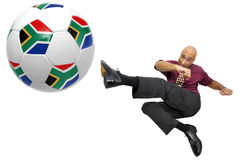 Football power Stock Images