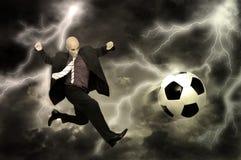 Football power Stock Photo