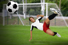 Football power Royalty Free Stock Photos