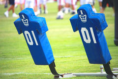 Football practice royalty free stock photography