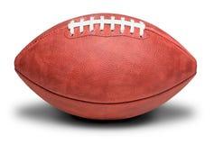 Football professionnel américain sur le blanc Images stock