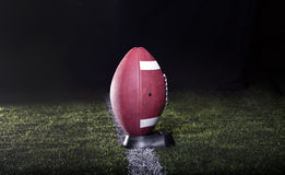 Football Ready for kickoff Royalty Free Stock Photos