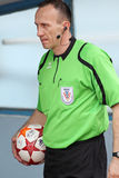 Football referee Stock Photography