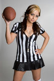 Football Referee Royalty Free Stock Photography