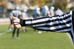Football referee Stock Image